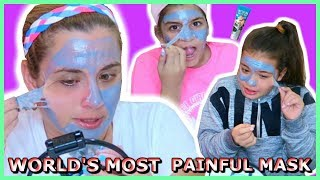 WORLD'S MOST PAINFUL MASK / HELL PORE CLEAN UP FACE MASK