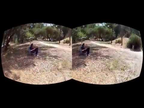 Oculus Rift 3D GoPro Movie test - Lunchtime Escape