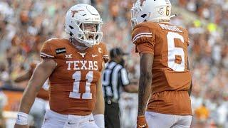 UTEP vs Texas Football Highlights