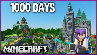 I Played Minecraft for 1000 Days.. (1.16 Survival)