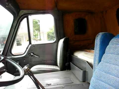 Freightliner Trucks For Sale >> 1964 international cabover part III. - YouTube