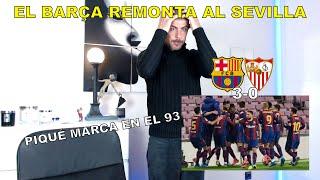 REACCIÓN MADRIDISTA al BARCELONA 3 SEVILLA 0