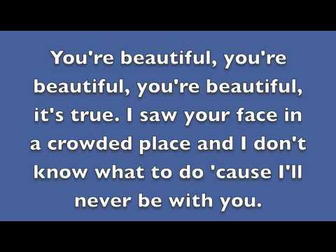 You Re Beautiful James Blunt Lyrics