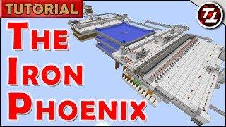 The Iron Phoenix - Minecraft Self-Assembling Iron Golem Farm - 2600 Iron/hr (Works in 1.12+)