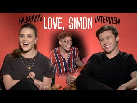 Nick Robinson & Katherine Langford Love, Simon HILARIOUS interview | Heartbreaks & gay love | AD