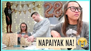 SIMPLE SURPRISE NI MISTER + DECORATING FOR MY BIRTHDAY ❤️ | rhazevlogs