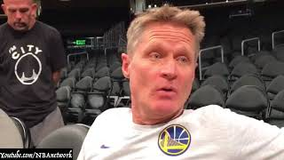 Steve Kerr: Kobe Bryant is the 'Closest thing' to Michael Jordan