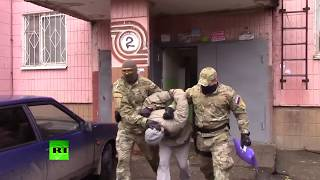 Đặc nhiệm Nga bắt tội phạm như trong phim hành động