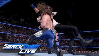 AJ Styles vs. Aiden English: SmackDown LIVE, July 3, 2018