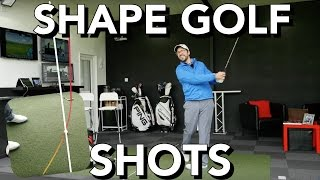 HOW TO DRAW AND FADE THE GOLF BALL