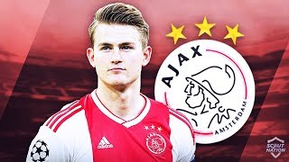 MATTHIJS DE LIGT - Insane Defensive Skills, Passes & Goals - 2019 (HD)