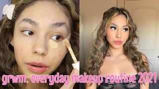 GRWM: everyday makeup routine 2021