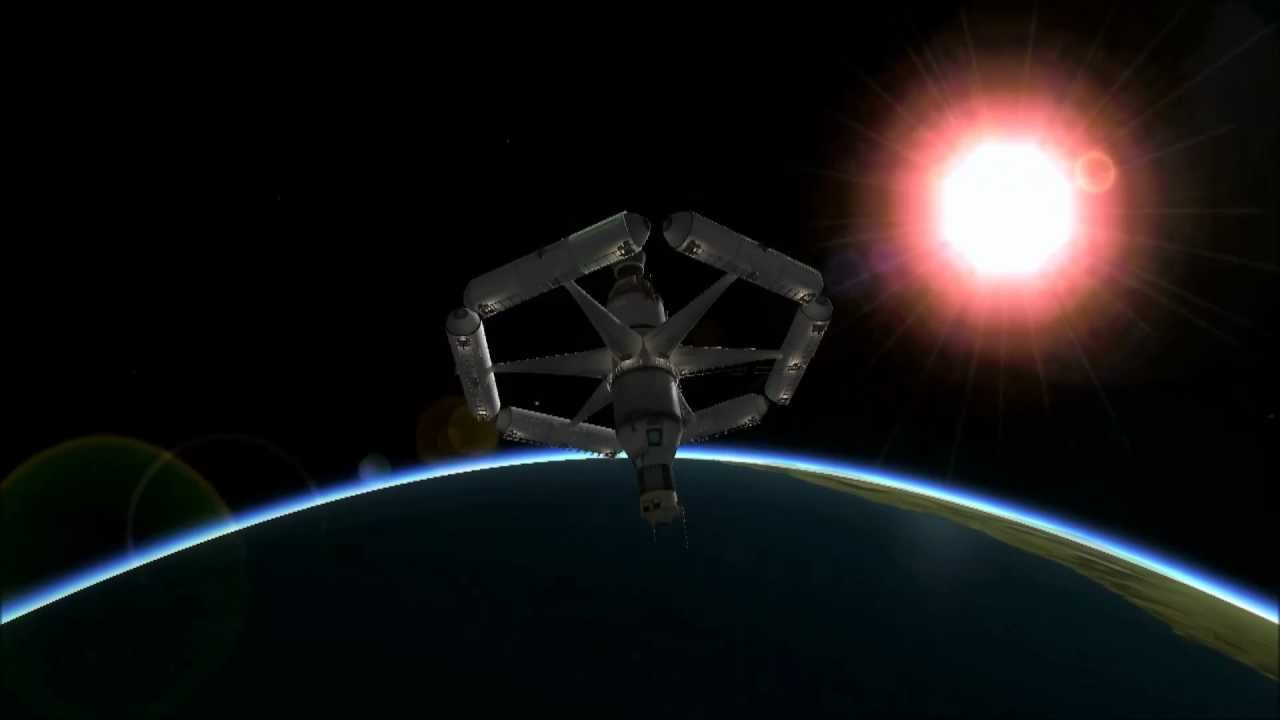 KSP Stock Space Station - Pics about space