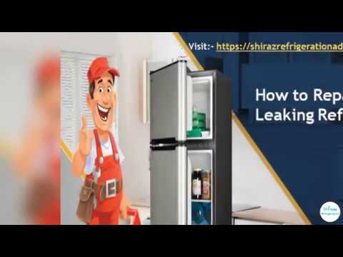How to Repair a Leaking Refrigerator
