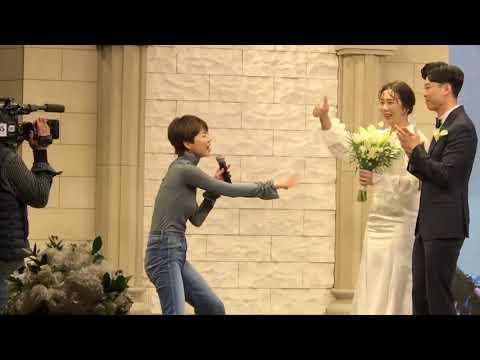결혼식장 뒤집어 놓은 안영미 축가 ㅋㅋ 에너지 미쳤다 !!