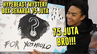 UNBOXING HYPEBEAST MYSTERY BOX SEHARGA 75 JUTA RUPIAH!   #Hypemania