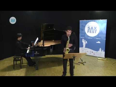 Emanuel Plagne - Fase Eliminatòria - ANDORRA SAX FEST'14