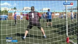 Сегодня на стадионе «Динамо» состоялся турнир по футболу