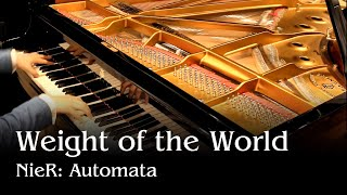 Nier Automata ED - Weight of the World [piano]