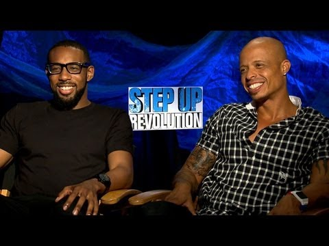 'Step Up Revolution' Stephen 'tWitch' Boss and Jamal Sims Interview