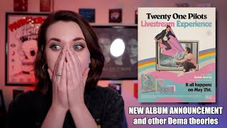NEW TWENTY ONE PILOTS ALBUM (and other theories)