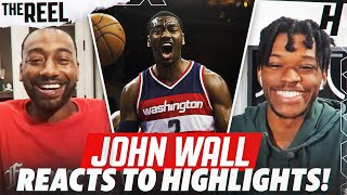 JOHN WALL REACTS TO JOHN WALL HIGHLIGHTS! | THE REEL S2 WITH @KOT4Q