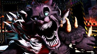 TWISTED WOLF IS AFTER ME! | FNAF Ultimate Custom Night Mod
