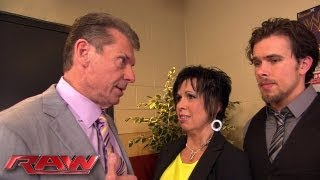 Mr. McMahon is discouraged by Vickie Guerrero's unprofessionalism: Raw, July 1, 2013
