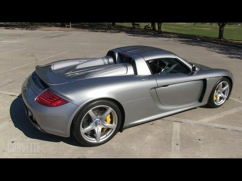 Carrera GT - How to drive a Supercar