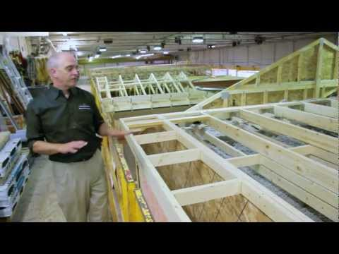 Guildcrest Factory Tour - Catwalk: Insulation, Sheathing and Shingles
