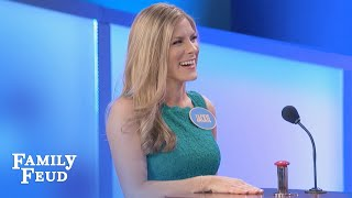 Get out the BLEEP BUTTON! | Family Feud