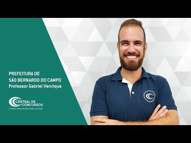 [Prefeitura de São Bernardo do Campo - Edital 2018]