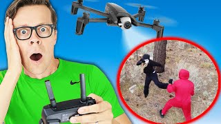 Drone Prank Gone Wrong! Found RHS Spy during Diy Pranks and Funny Tricks.