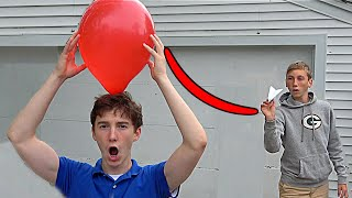 Paper Airplane Trick Shots 2 | That's Amazing