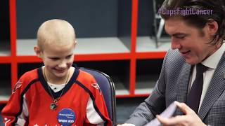 #CapsFightCancer | Oshie and Addy