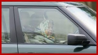 The Queen spotted driving ON HER OWN days after Prince Philip's horror crash