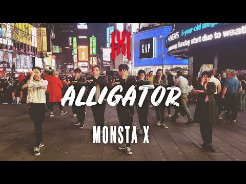 [KPOP IN PUBLIC CHALLENGE NYC | 4K]  MONSTA X (몬스타엑스) - 'Alligator' Dance Cover By CLEAR x RPH