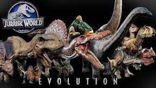 All Dinosaur Species Profiles! - Jurassic World Evolution