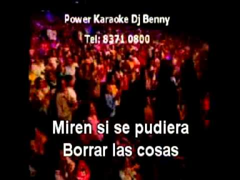 USTED QUE HARIA   Diego Verdaguer Power Karaoke