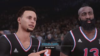 All Star Game! NBA 2K16 My Career Gameplay