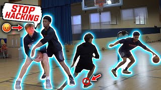 Heated 1v1 Basketball! Very Physical