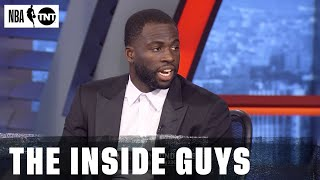 Draymond Green Shares Why He's Picking LeBron as the MVP | NBA on TNT