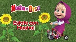 Masha e Orso - ☀️ Estate con Masha! 🌻 Migliore compilation dei cartoni animati estivi per i bambini