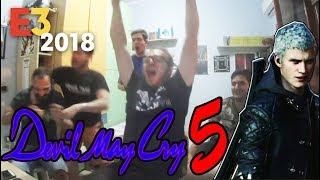 Devil May Cry 5 LIVE Reaction - E3 2018 MICROSOFT
