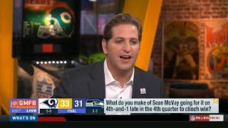 NFL GMFB LA Rams vs Seattle Seahawks discussion highligths
