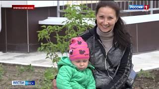Новый детский сад на улице Лисицкого сегодня принял первых воспитанников