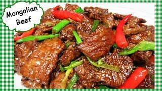 BEST Mongolian Beef Stir Fry Recipe ~ Chinese TakeOut Cooking Secrets