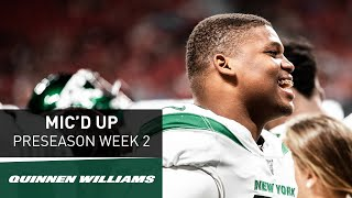 """Quinnen Williams Mic'd Up """"You Like That Swag?"""" 