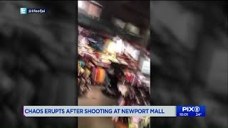 Two wounded in shooting at Newport Centre mall in Jersey City