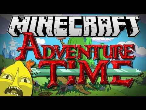 Minecraft | ADVENTURE TIME! (Adventures with Finn and Jake!) | Adventure Map [1.6.2] - TheDiamondMinecart  - kzoftyBCAds -